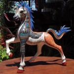 Jacobo's Horse Wood Carving