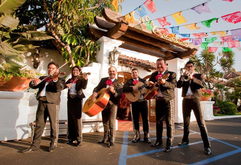 Mariachi In San Diego Restaurant