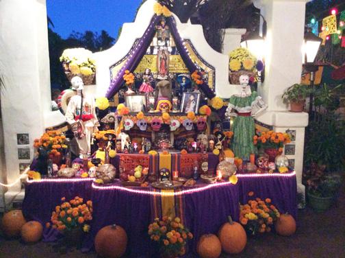 Altar at Casa Guadalajara